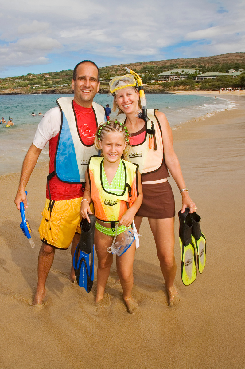 Family activities in Maui