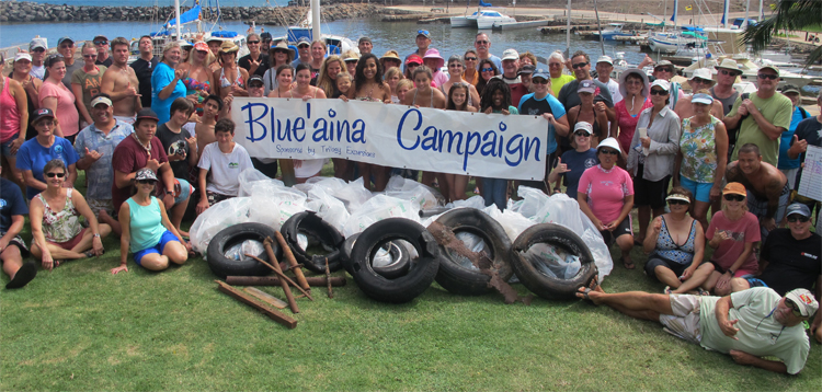 Maui reef cleanups