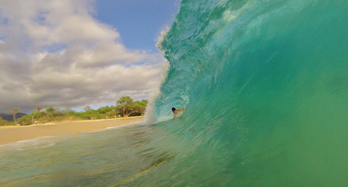 Bodysurf on Maui