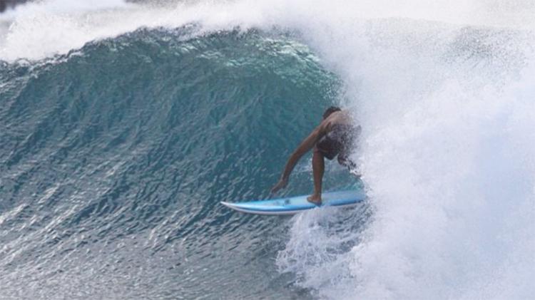 Captain Brian Surfing
