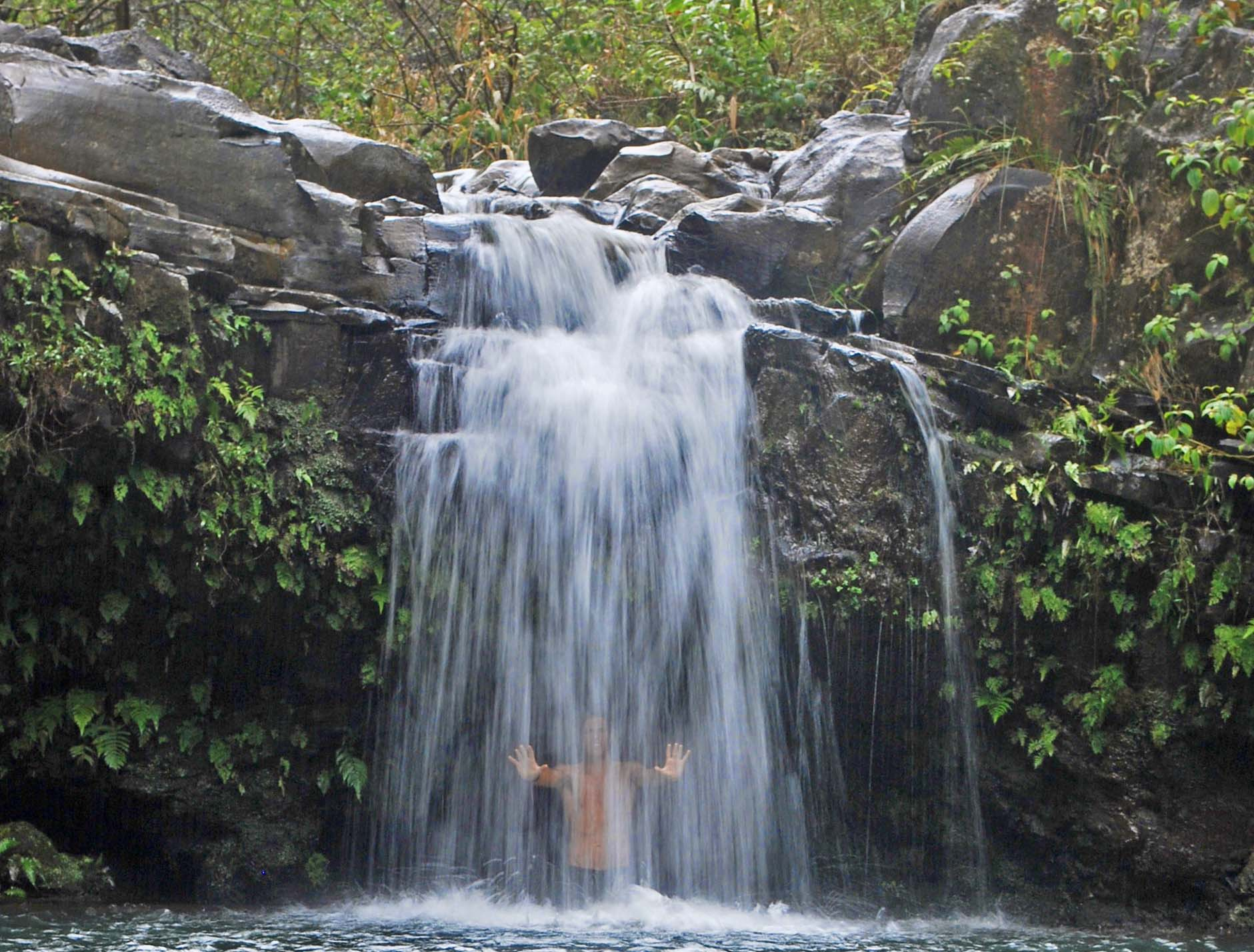 A Waterfall in Maui