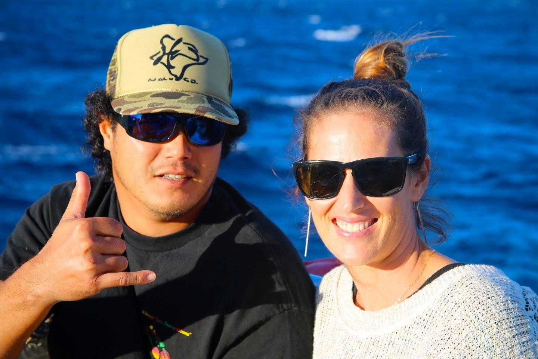 Save Honolua board members enjoy the benefit sail. PC: Ananda Stone
