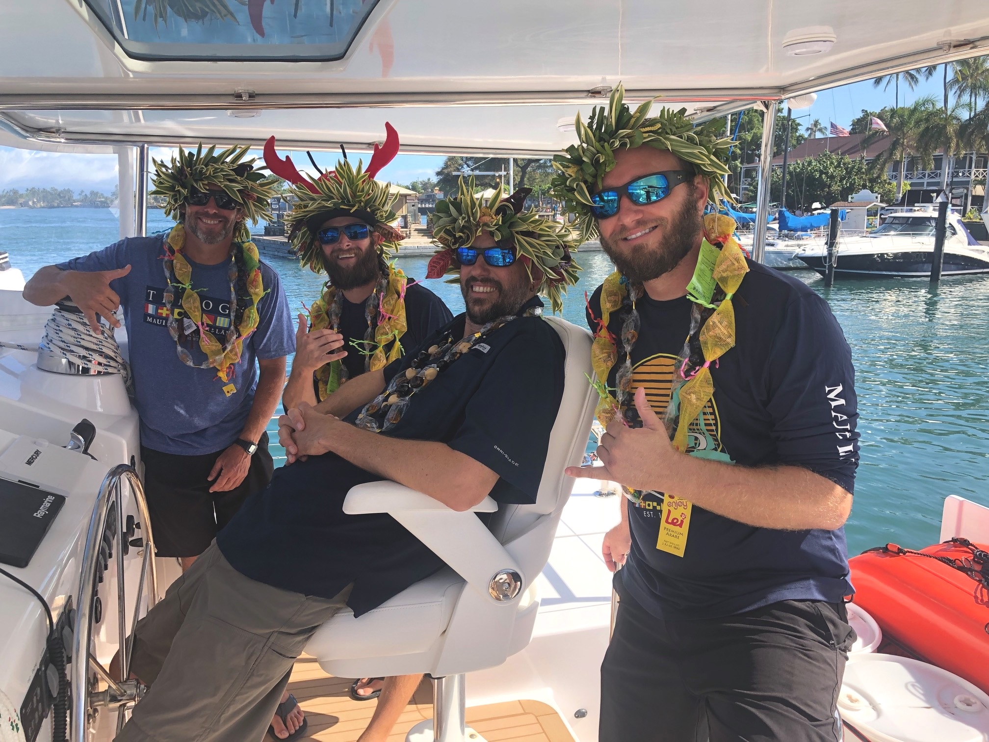 Trilogy 1 crew Maui
