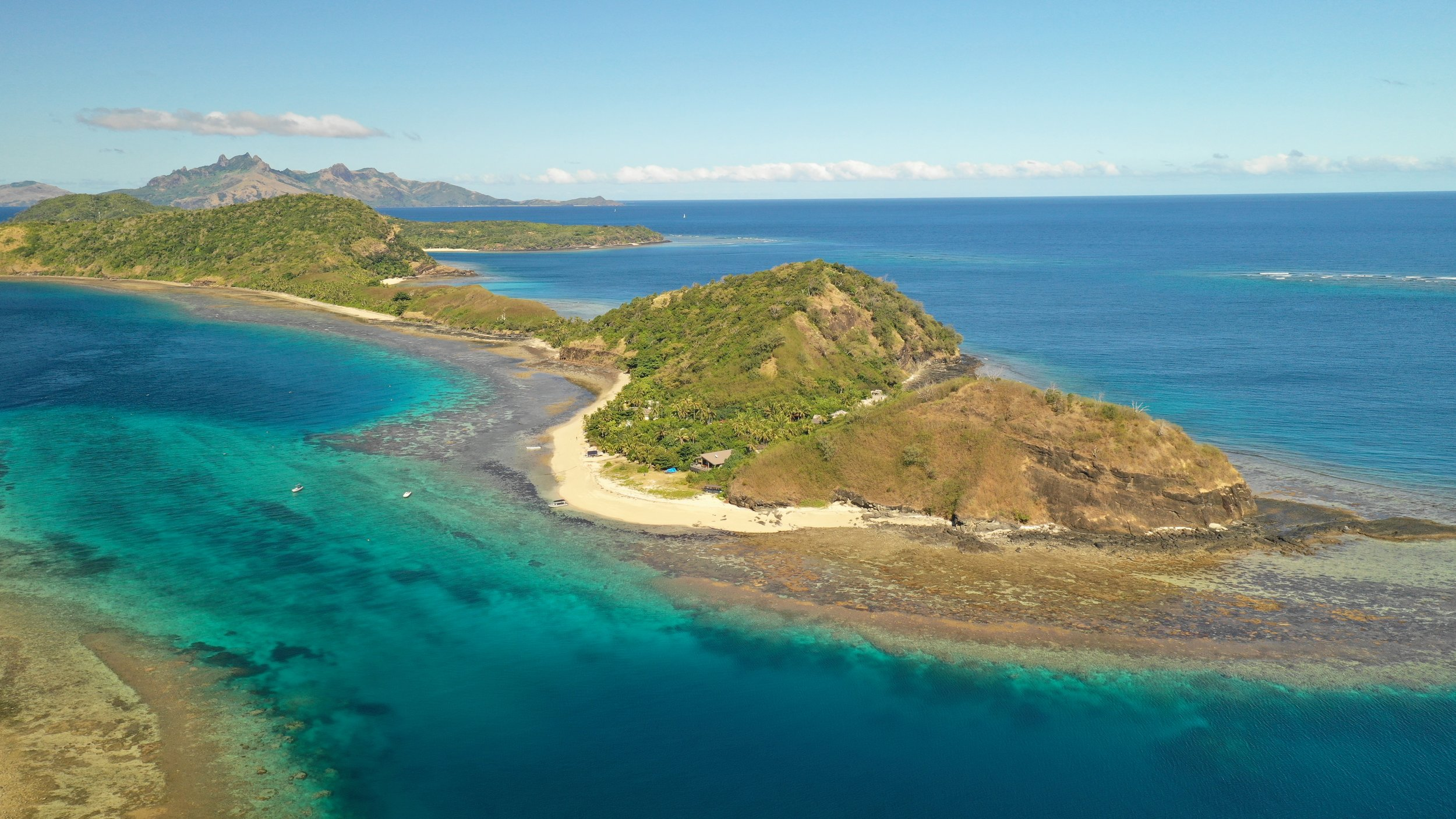 The Yasawa Islands are a mostly isolated area that makes up Fiji's western border.
