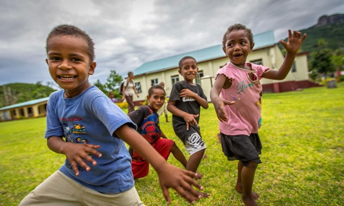 Vinaka Fiji Volunteering offers ways to help the remote villages of the Yasawa Islands through classroom teaching. Image Courtesy of Vinaka Fiji.
