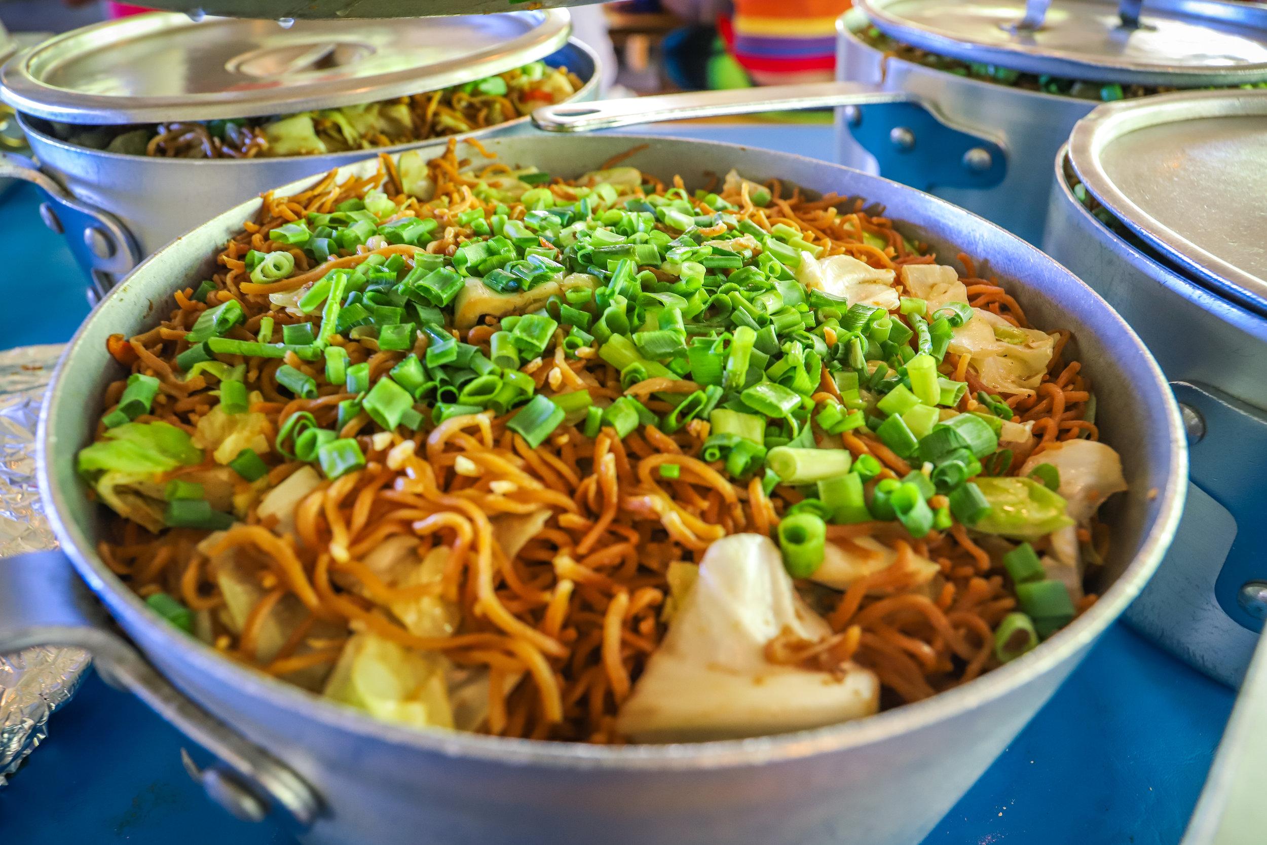 Trilogy's Famous Stir Fry Hawker Noodles