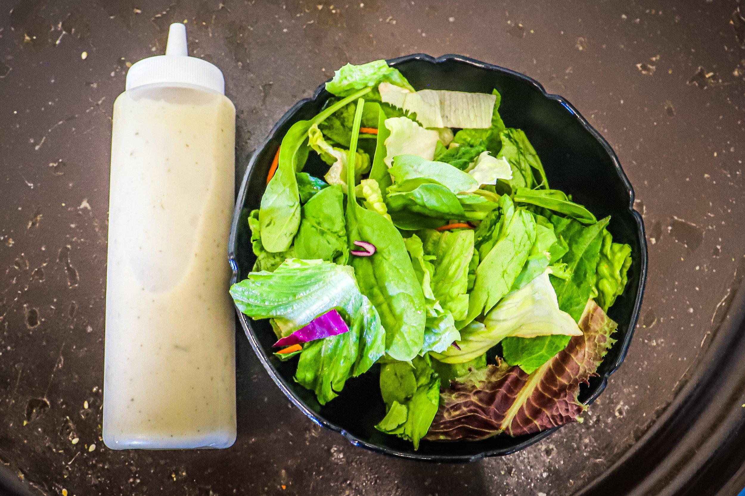 Trilogy's Homemade Salad Dressing