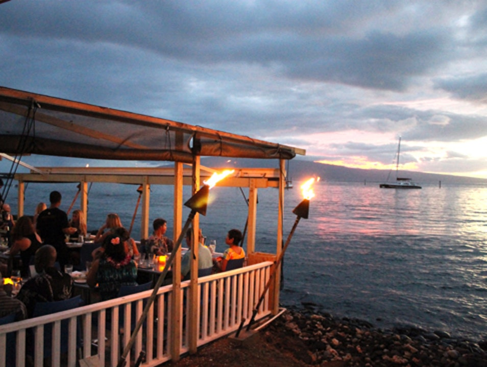 Mala Ocean Tavern at Sunset