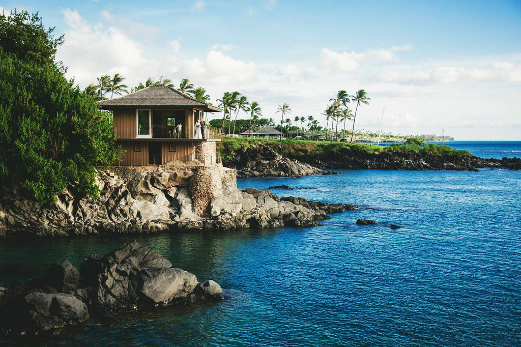 Cliffhouse off the coast of Kapalua