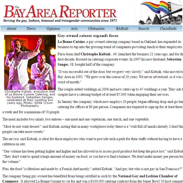 THE BAY AREA REPORTER
