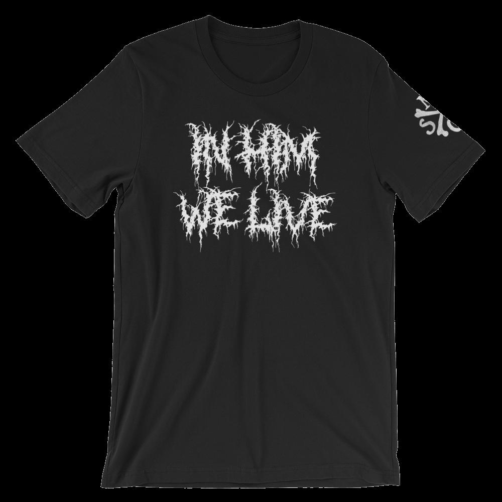 in_him_we_live_we_live_12x16_bones_square_printfile_sleeve_left_mockup_Front_Wrinkled_Black.png