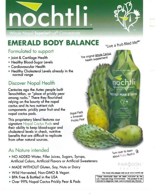 EMERALD SALE! Use the code EMERALD20 at check out and get 20% OFF your order of Emerald Body Balance! Valid now through August 24th. Limited to 8 bottles (or two 4-pack cases) per household. Stock up now at www.nochtli.net  #nochtli #superiorfruit #nopal #healthyfruit #naturalproducts #nutrition #pricklypears #pricklypearcactus #bloodsugar