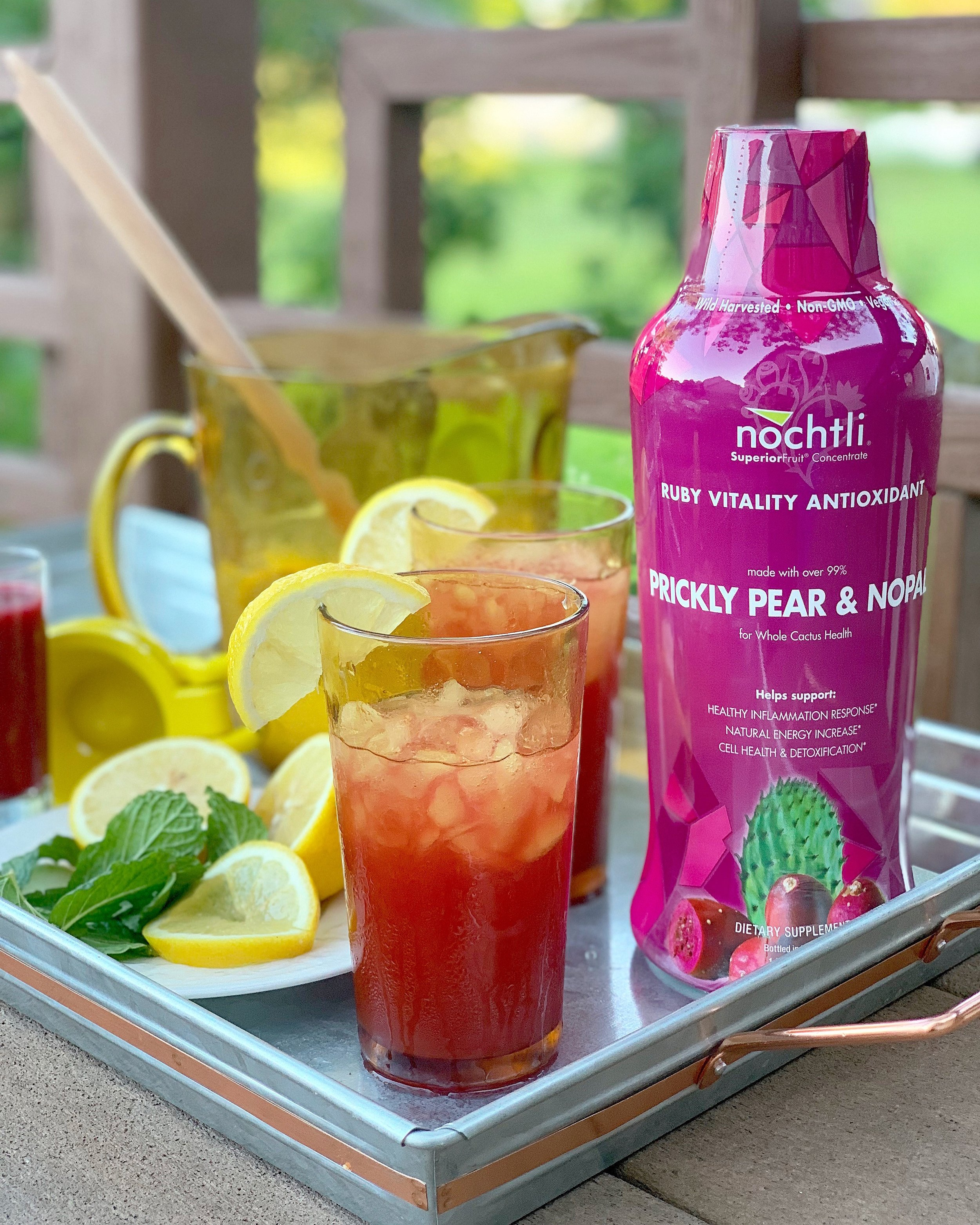 Prickly Pear Lemonade