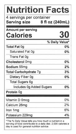 CaptureCactus Water_1L_nutrition label.PNG