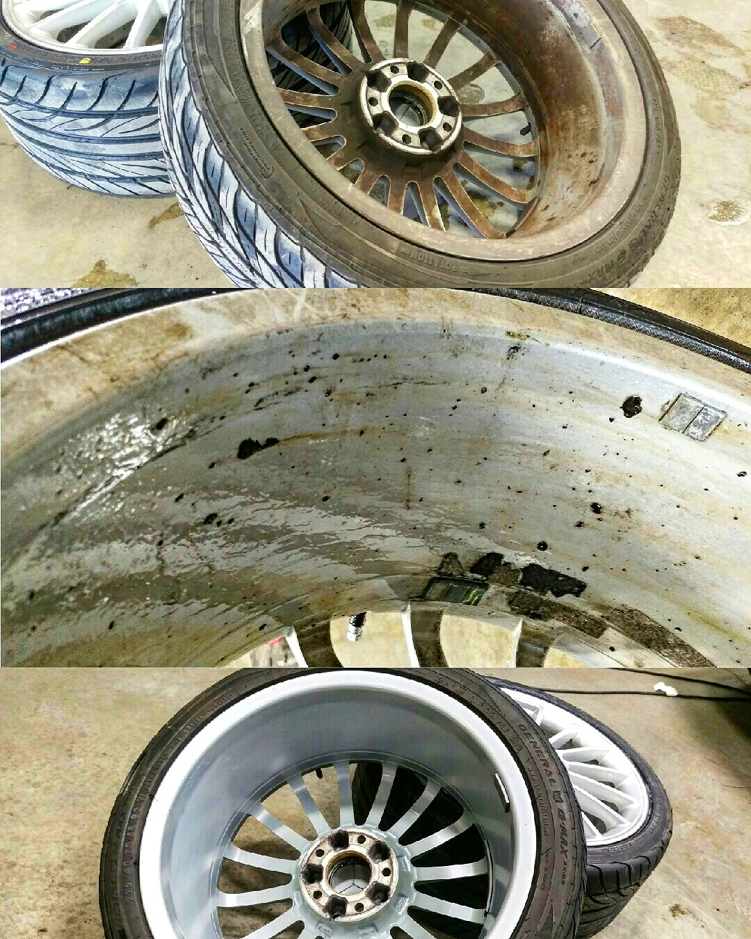Wheel Removal & Decontamination