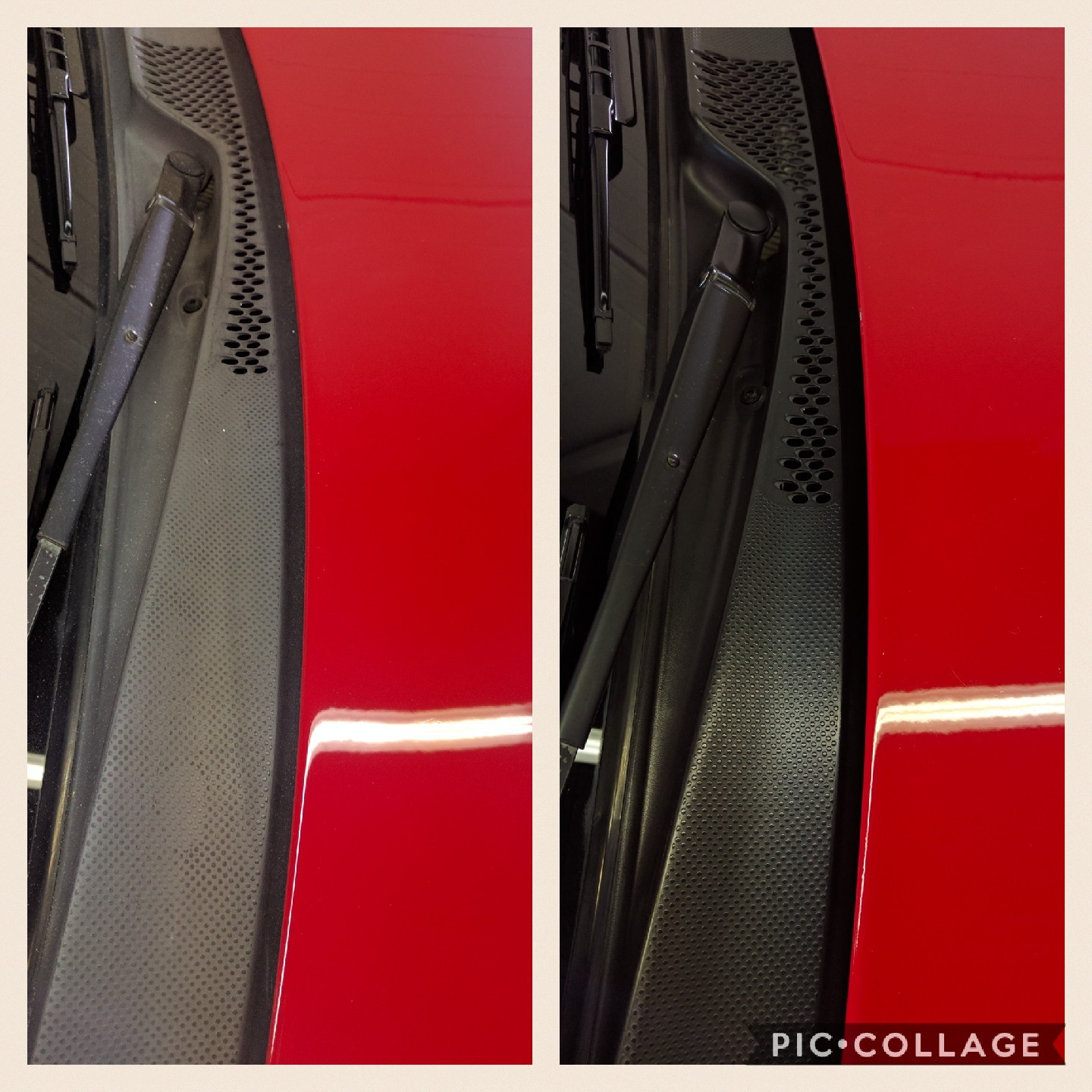 Permanent Plastic Trim Restoration