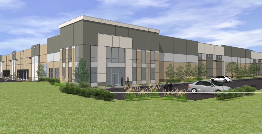 Inland Port XIV will be a 822,104-square-foot spec-built warehouse at Logistics Park Kansas City in Edgerton, Kan. Amazon announced in the first quarter it would occupy the entire building.