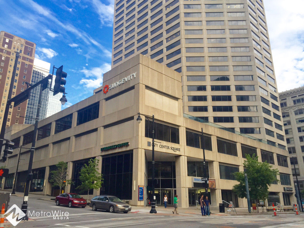 Sungevity moved into City Center Square in January and aims to hire 600 workers in Kansas City over the next five years.