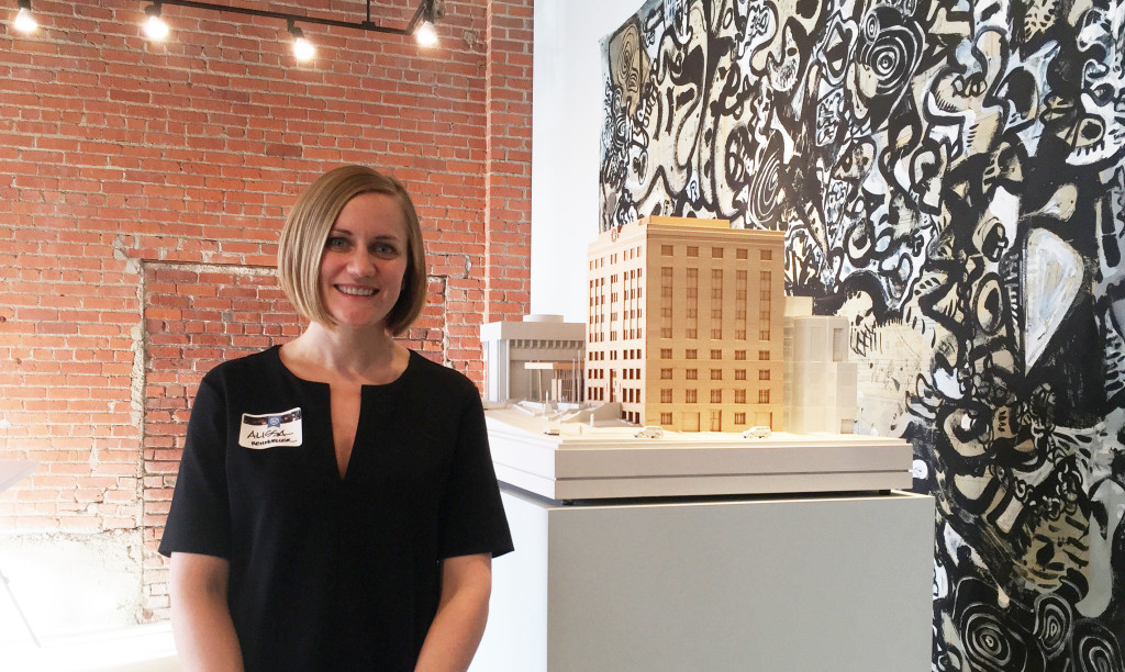 Alissa Wehmueller, director of interiors at Helix Architecture + Design, says compelling office design can be incredibly influential in employee productivity and career satisfaction.