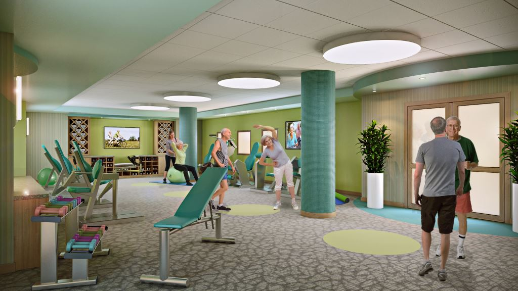 The community is putting a renewed focus on its current and prospective residents' health and wellness.