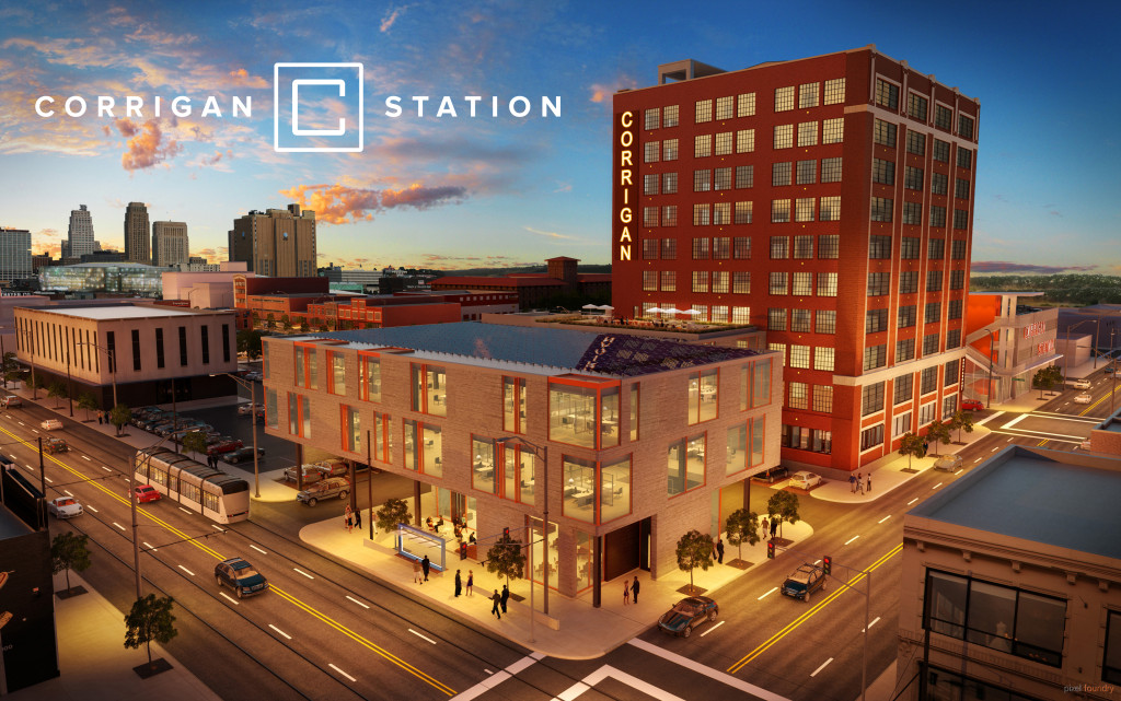 Corrigan Station is a 150,000-square-foot multi-tenant office development at 19th & Main.