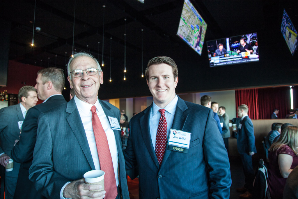 Tom Turner and Alex Hilton of Grandbridge Real Estate Capital. Photo credit: Jacia Phillips.