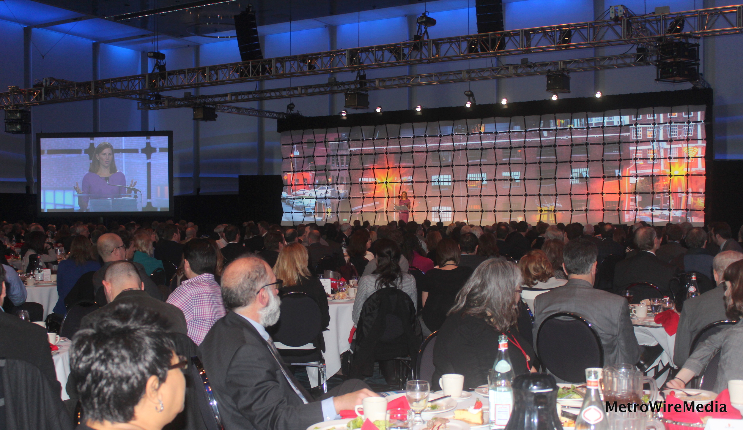 The Downtown Council's annual luncheon.