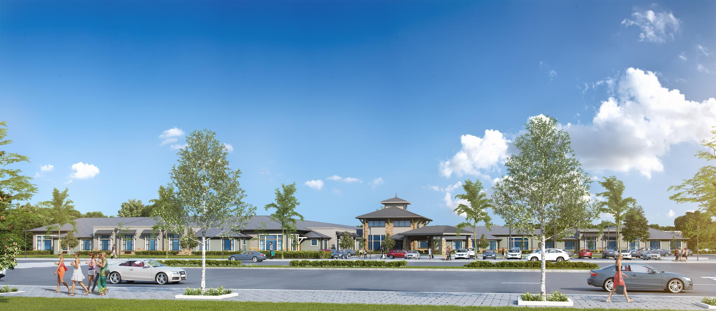 Tutera breaks ground on this new $65 million senior living community in the Northland on Wednesday.