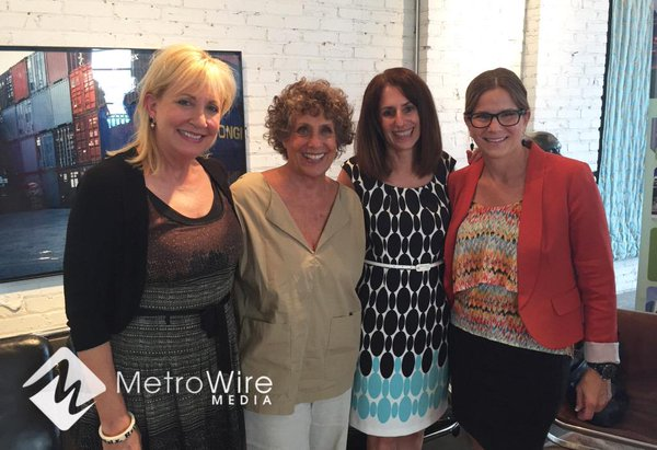 Melanie Mann, Suzy Aron, Ora Reynolds and Cindy Circo spoke to members of ULI as part of the group's new Women's Leadership Initiative.