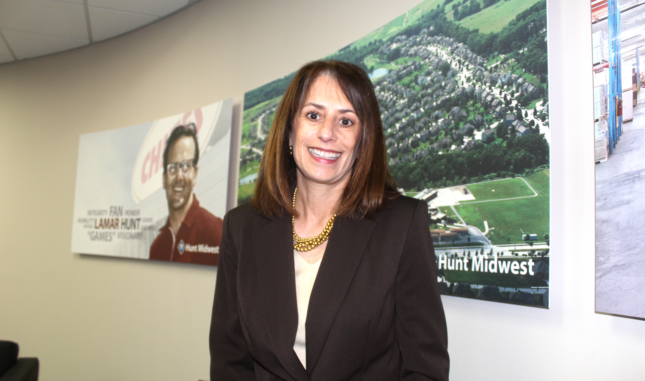 Ora Reynolds is president at Hunt Midwest.