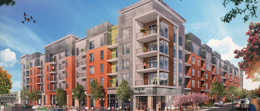 The Vue is a new apartment project in downtown Overland Park that Hunt Midwest hopes to kick off in January 2016.