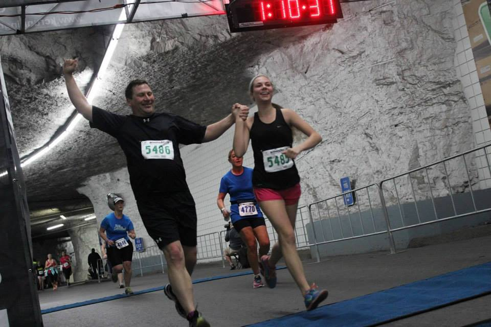The Groundhog Run, hosted at Hunt Midwest Subtropolis, is one of the most popular races in the country, with the tunnels staying a consistent 65 to 68 degrees. Photos courtesy of Hunt Midwest/Children's TLC.