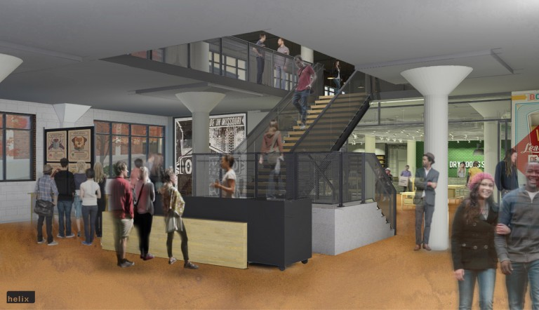 Two floors will offer visitors a chance to learn about Boulevard's history and sample its latest beers.
