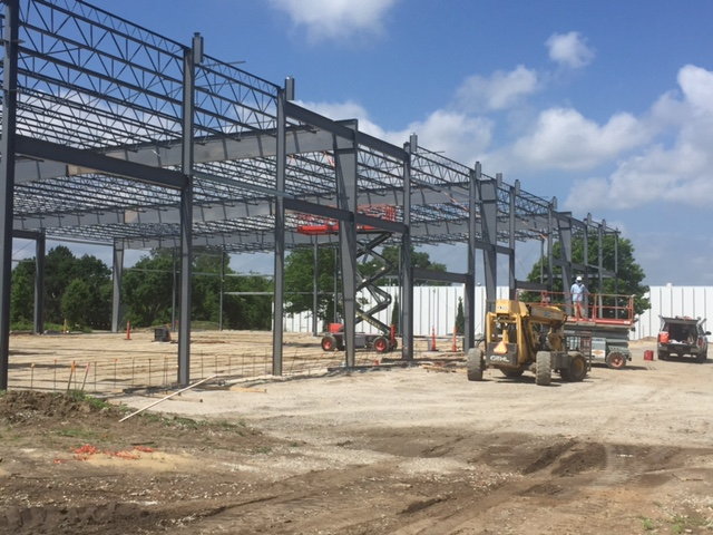 The 24,000-square-foot spec building going up in Lenexa is located at 15333 W. 109th Street.  For more information,  download a brochure .