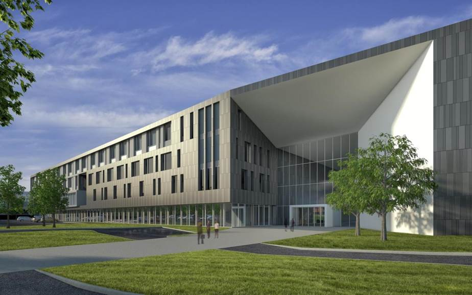 The first phase of the expansion, which includes 300,000 square feet of office space, is scheduled to debut in March 2016.
