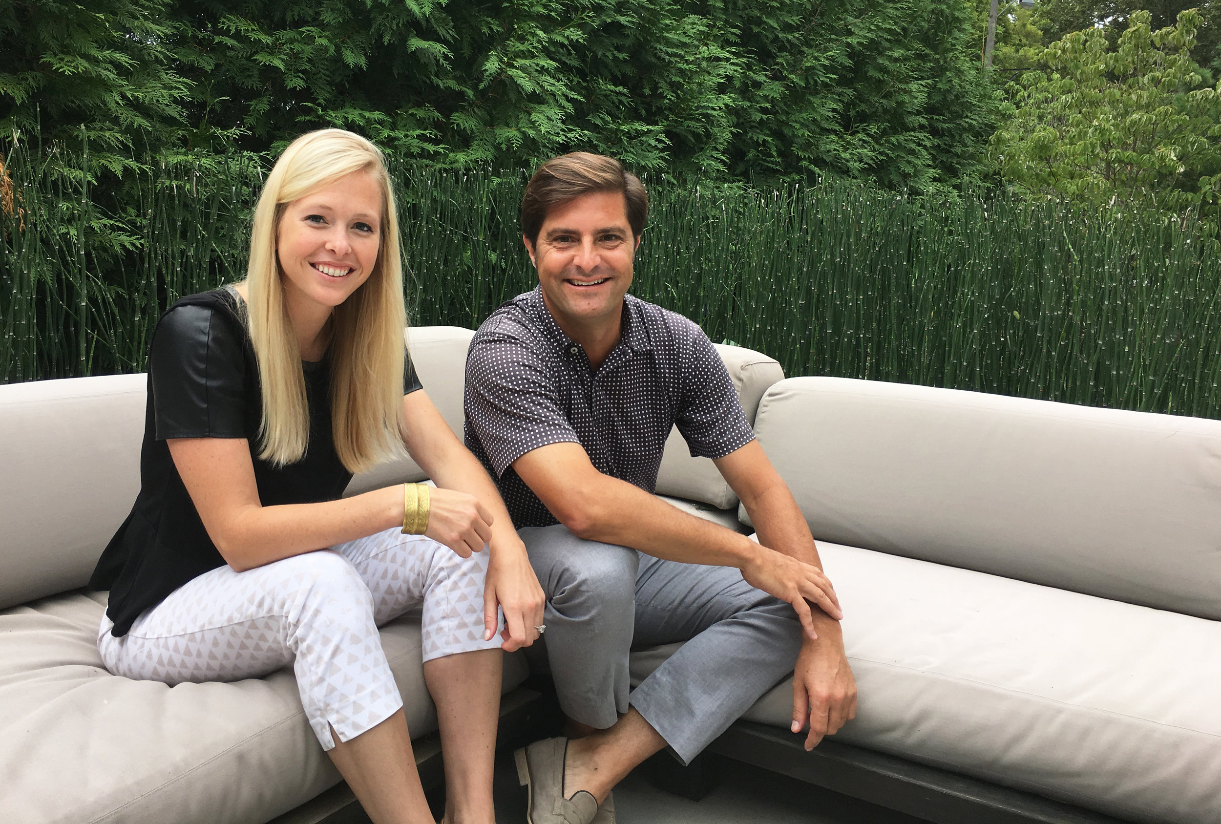 Kathryn Orlowski and Brett Posten are the co-founders of a new development-focused advertising and PR firm Highline Partners.
