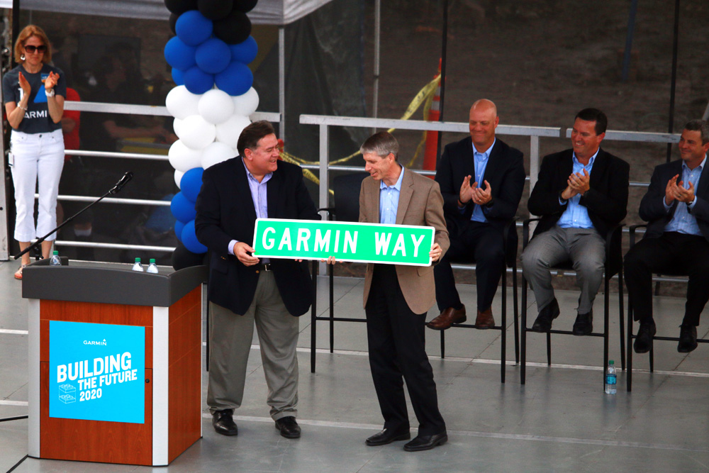 Officials kicked off construction on the massive expansion project in Olathe last week.