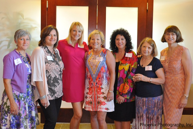 Committee members Lu Hoffman, Andrea Lafayette, Lisa Osborne, Debbie Schulte, Joanna Shawver, Kathy Lapp, Marty Schach. Photo Courtesy of Phoenix Photography.