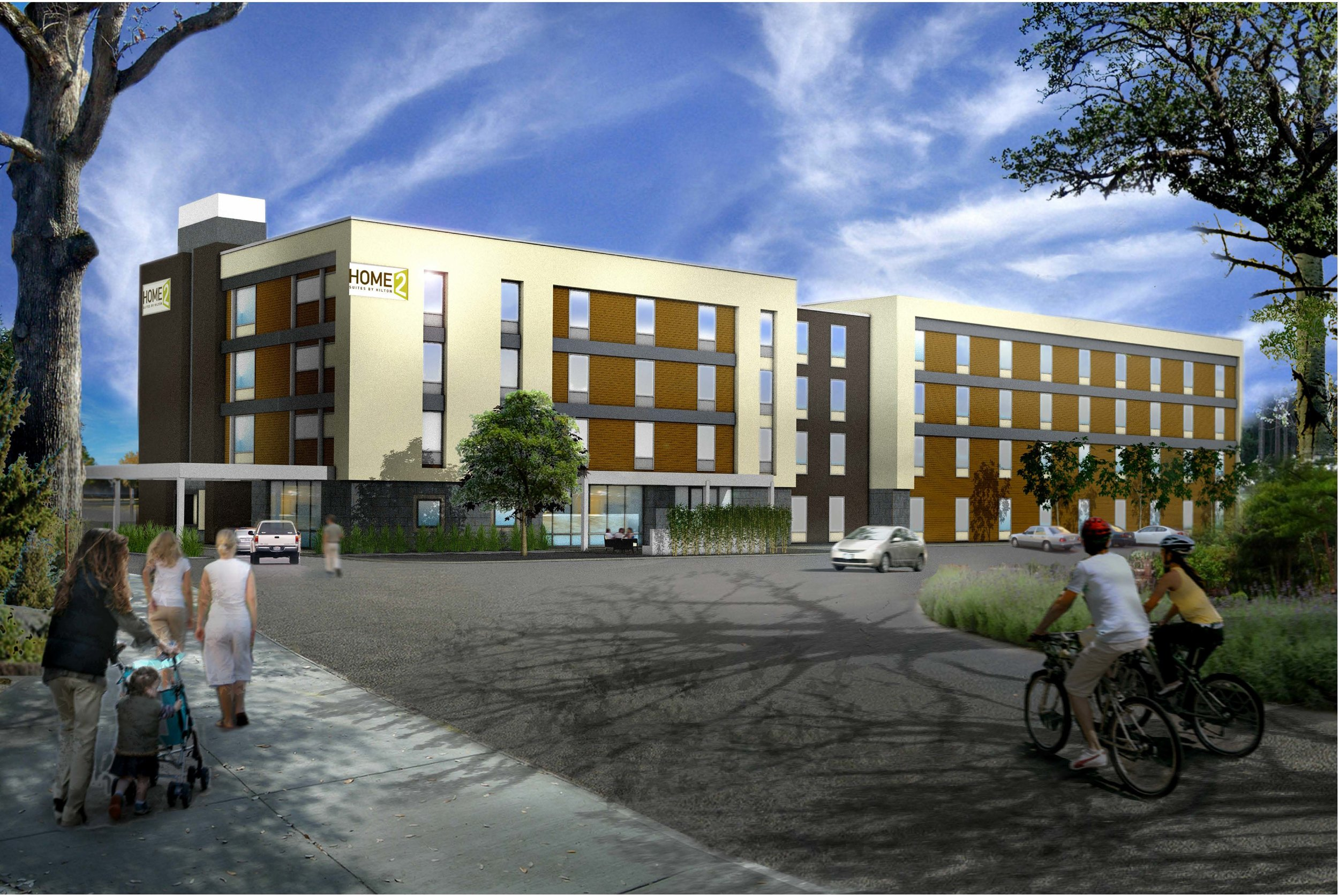 LANE4 is continuing to redevelop Rainbow Boulevard with the construction of a new extended stay Hilton Home2Suites at 34th and Rainbow in Kansas City, Kan.