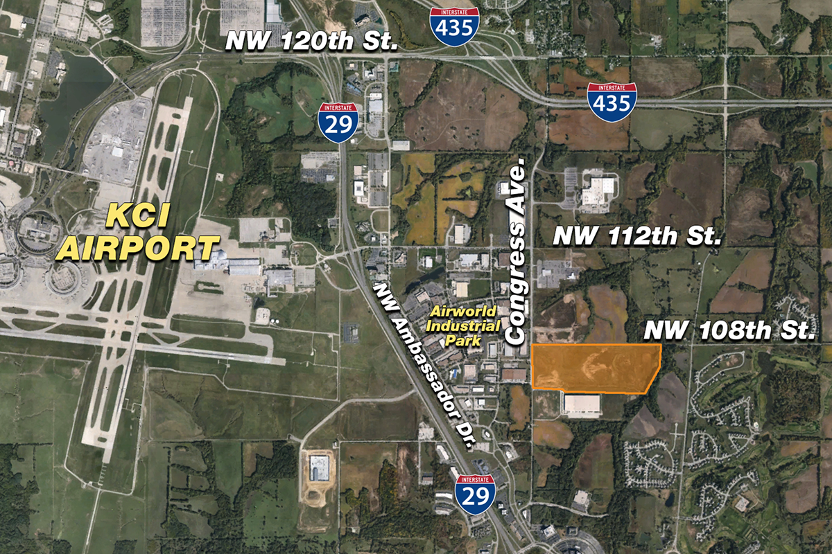 Skyport Industrial Park is located near KCI.