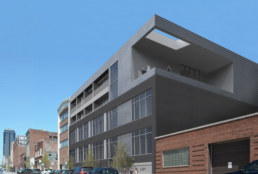 Linden Street Partners will convert this former warehouse at 1721 Walnut into 38 apartment units.