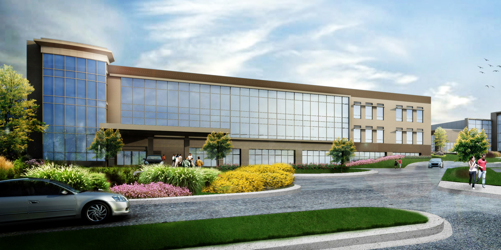 Shawnee Mission Health - Overland Park will offer specialty services, a women's imaging center, primary care, and physical therapy at its new BluHawk location.