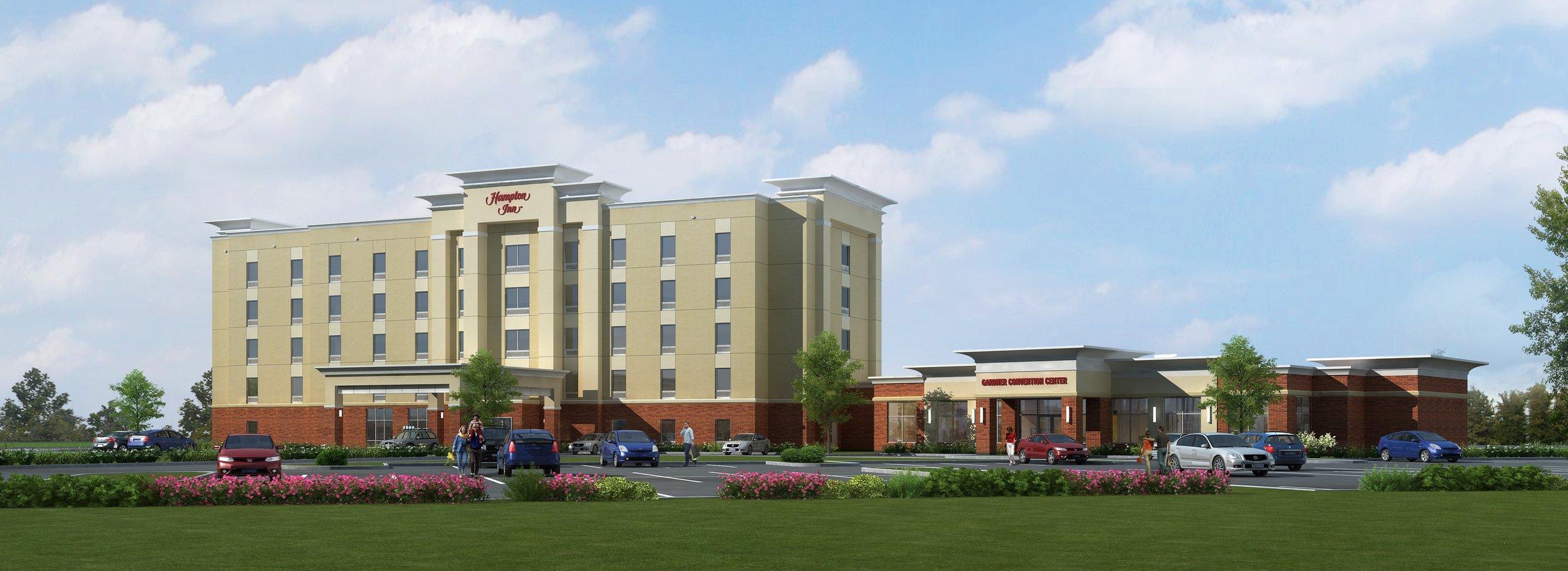 If plans are approved, developer Deepak Parmar will build an 82-room Hampton Inn Hotel in Gardner along I-35.