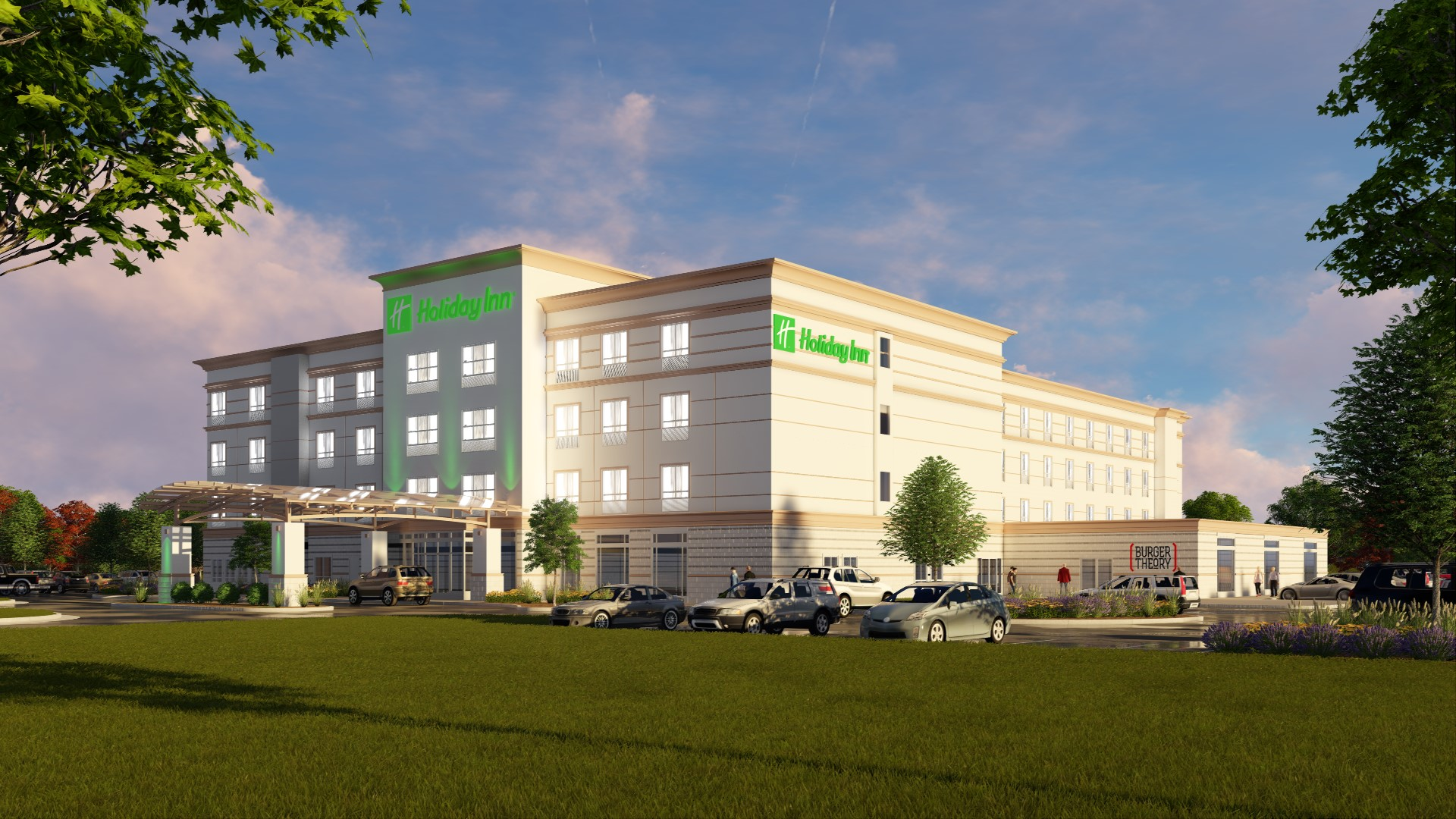 Look for two new hospitality options at the Hunt Midwest Commerce Center in 2018: a SpringHill Suites by Marriott and a Holiday Inn Hotel & Suites.