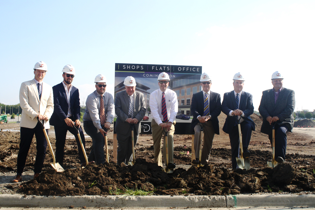 The District at City Center officially broke ground on Tuesday, September 19.
