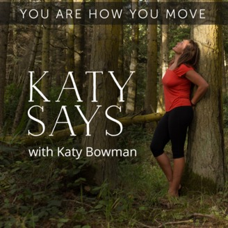 Katy Says - One of our favorite authors, Katy Bowman (see above), presents her thoughts on body mechanics, movement nutrition, natural movement, and how movement could be the solution to ailments we all experience. If reading is not your thing or you are looking to get a taste of her ideas before committing to her series of books, this podcast will revolutionize your thinking about how we move through the world. Have we mentioned we love her?