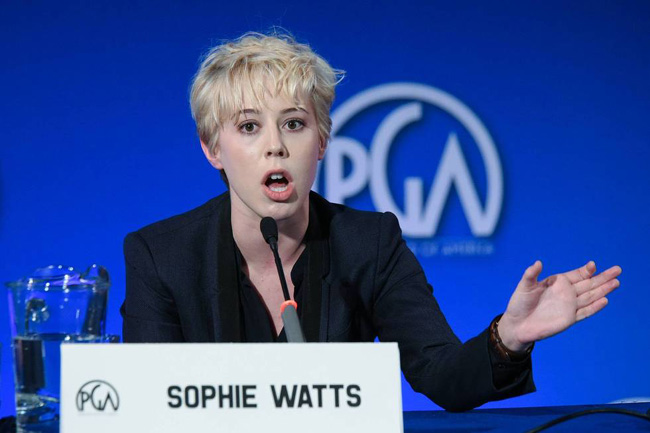 President of STX Entertainment, Sophie Watts discusses alternative financial models.