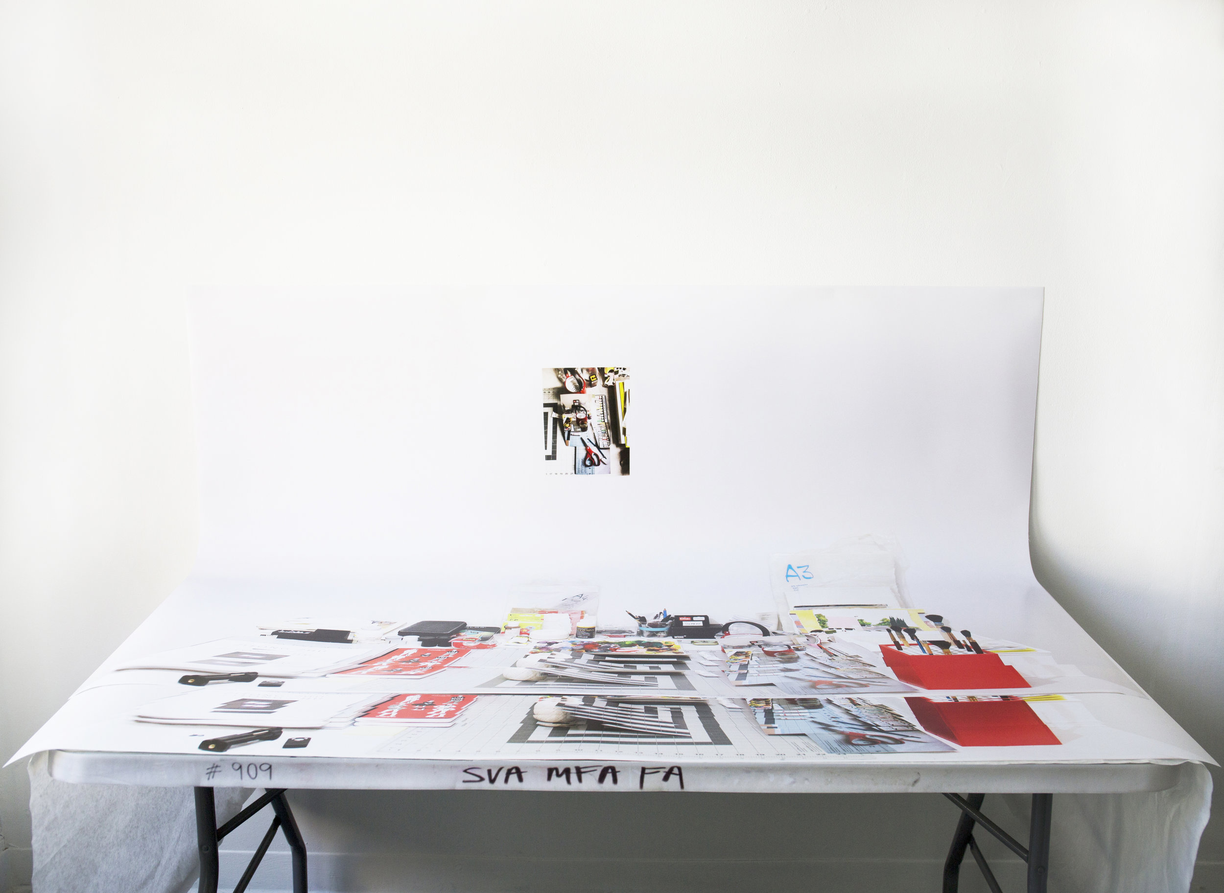 Installation view of Studio Deck 2.0