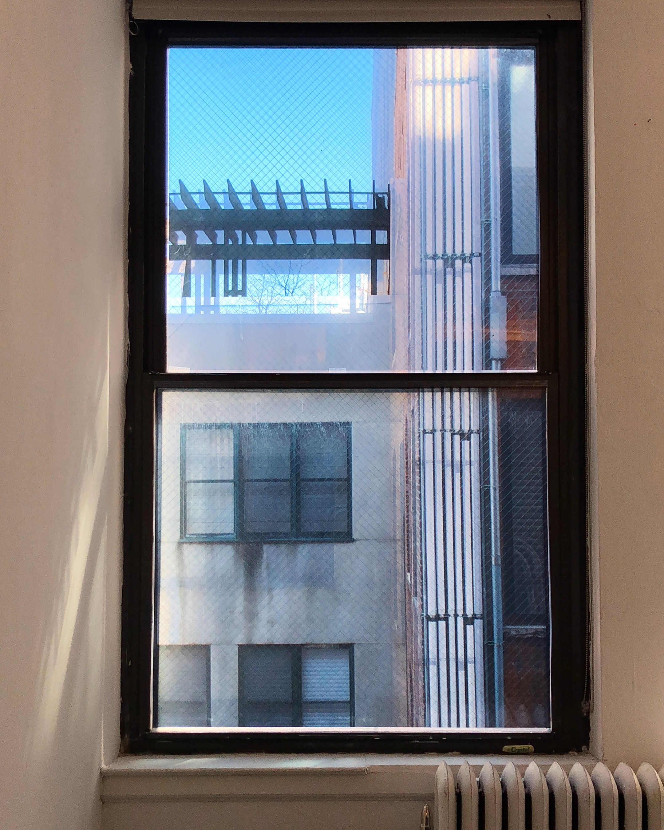 Installation view of Window