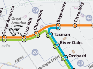 Proposed Light Rail Routes